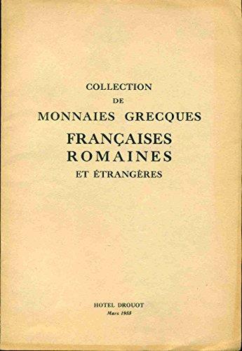 Collection de Monnaies Grecques Françaises Romaines et Etrangères. Prud'homme et Bourgey par Collectif