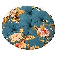 Blancho Bedding Peony - 40cm Cotton Chair Pad Futon Cushion Floor Round Seat Cushion Tatami