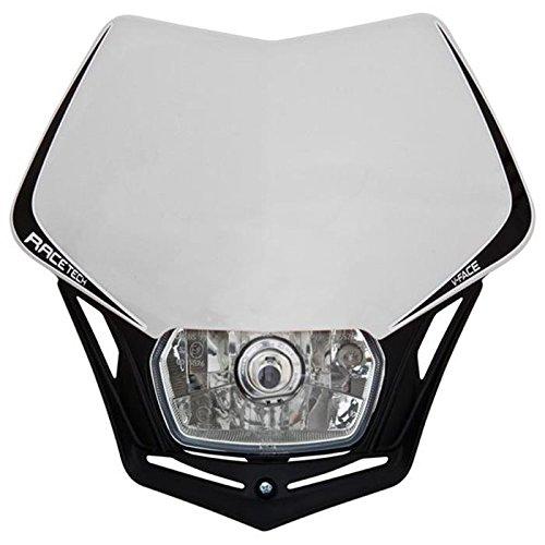 Usato, Fanale da moto V-Face, maschera per fanale, Bianco/ usato  Spedito ovunque in Italia