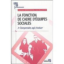 La fonction de cadre d'équipes sociales: Comprendre, agir, évoluer.