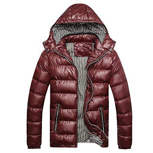 Mantel Sunnyadrain Herren Jacke Reine Farbe Hooded Patchwork Gestreiften Patchwork Retro Reißverschluss Pullover Winter Warm Sweatshirt Top Langarm