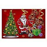 KOOCO Santa Claus Outdoor Carpet Frohe Weihnachten Fußmatte Weihnachtsschmuck Für Zuhause Xmas Party Favors New Year Weiche Anti-Slip Ma, 07