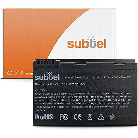 Batería para Acer Aspire 3100 / 3690 / 5100 / 5110 / 5610 / 5630 / 5650 / 5680 / Extensa 5200 (4400mAh)
