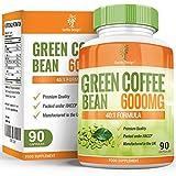Extracto de Grano de Café Verde - Elaborado con 6000mg de Granos de Café Arábigo - Extracto...