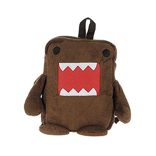 Domo Rucksack (SODIAL(R) Japan Domo Kun Netter Domo Kun Pluesch Rucksack - Braun)