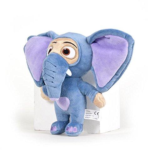 Zootopia - Peluche Ele-Finnick (Finnick mascherata) 25cm Qualità super soft - Fennec Elefante