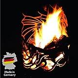 Ferrum Feuerkorb Drachentopf Edelrost Rost 1-0185 Feuerstelle Gartendekoration