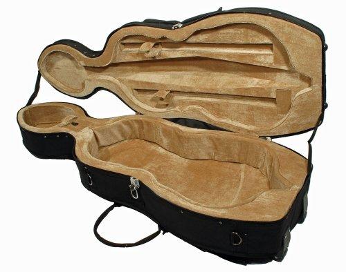 4/4 Cellokoffer Cello Case, schwarz