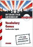CD-ROM Whiteboard-Anwendung Englisch 'Vocabulary games': Für alle interaktiven Whiteboards (auch für PC mit Beamer)
