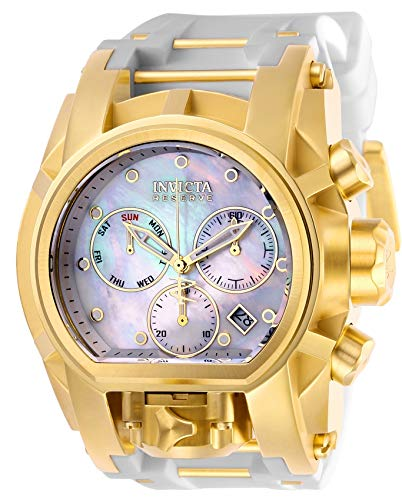 Invicta Men's Reserve Polyurethane Band Steel Case Swiss Quartz Watch 26714
