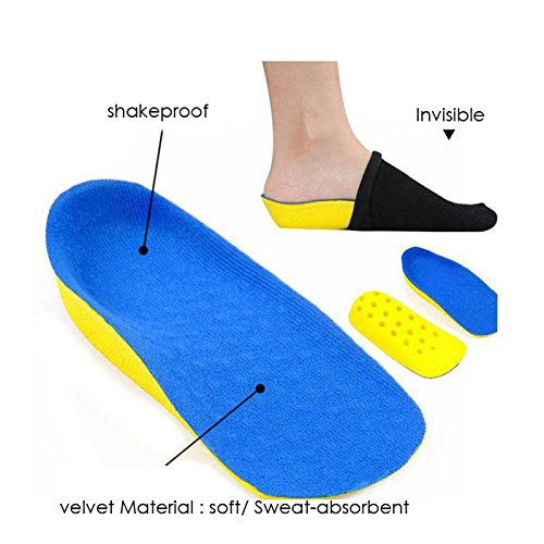 Men & Women Secret Height Increase 2.5cm Heel Lift half...