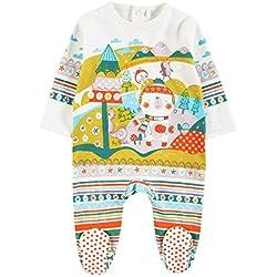 boboli, Pelele Interlock - Pelele Interlock para bebe - niñas, color 1111, talla 1M