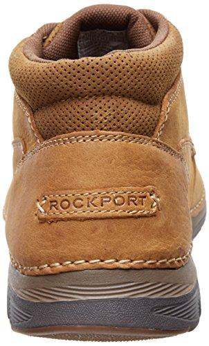 Rockport Zonecush Rcspt Pt Boot Herren Rund Leder Stiefel Tan