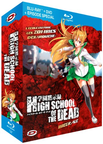 High school of the dead - Intégrale Combo Blu Ray/DVD (Version française) [Blu-ray] [Édition Meurtrière Blu-ray + DVD]