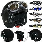 Best Crash Helmets - Leopard LEO-601 Open Face Helmet Scooter Motorbike Motorcycle Review