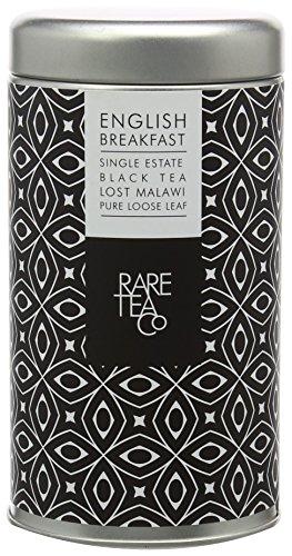 Rare Tea Company Lost Malawi Single Estate English Breakfast Black Tea in Tin, 50 g