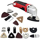 Voche® 300W Variable Speed Oscillating Multi Function Detail Sander, Cutting & Scraping Power