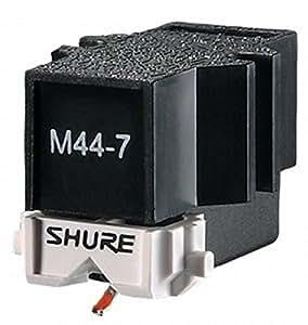 Shure M44-7 testina + puntina per DJ giradischi vinile piatti