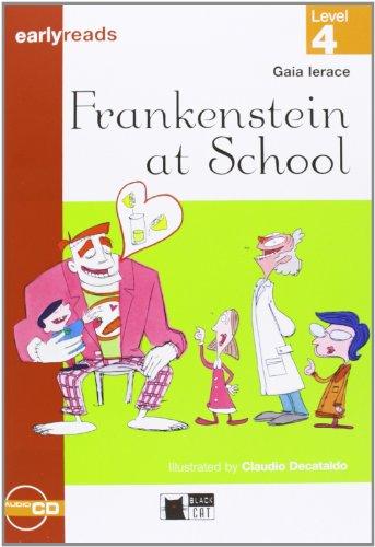 FRANKENSTEIN AT SCHOOL LIVRE ET CASSETTE par Gaia Ierace