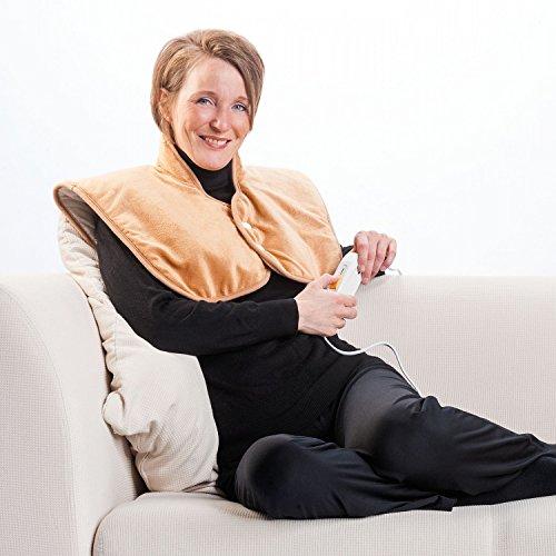 Elektrische Wärmeweste Komfort   Rückenwärmer   Nackenwärmer   Heizkissen   Heizdecke