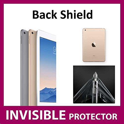 UNSICHTBARE Displayschutzfolie für Ihr iPad Air 2 (Rück ZURÜCK Schutz) welche aus einem kratzfesten Material hergestellt wird Exklusiv bei ACE CASE