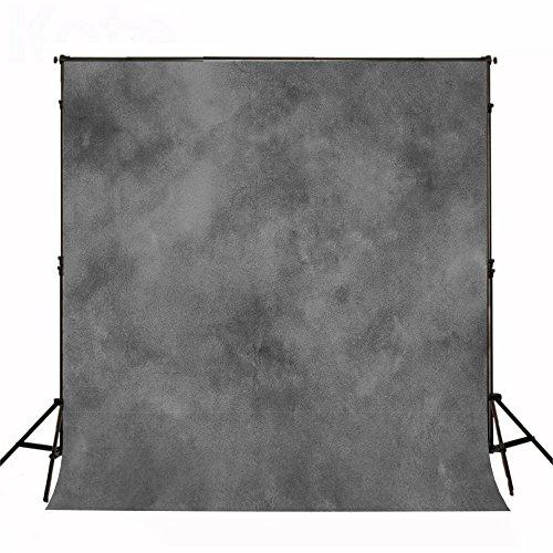 KateHome PHOTOSTUDIOS 1,5x2,2m abstrakt Fotografie Hintergrund grau Textur Photo Background Portrait Rücken Stoff