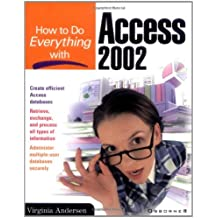 How to Do Everything with Access 2002 (HTDE)