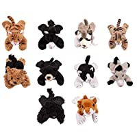 Friends The Collectables Cute & Cuddly Animal Plush Strong Fridge Magnets Fun Decorative Assorted Magnets