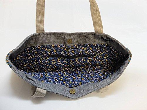 Bag Shopper BxH Trade Tasche Fair manbefair cm Felicitas Hobo 42x35 Grau Umhängetasche XL Schultertasche BR8npW