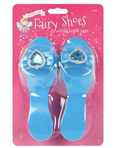 (Little Helper wdx92762-blue Super Niedlicher verkleiden Prinzessin Fairy Schuh–Blue, 3Jahre +, One size)