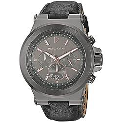 Michael Kors Dylan Gunmetal reloj MK8511 de los hombres 46 mm Negro/bronce