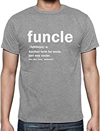 Funny Uncle Gift Shirts Funcle Definition for Christmas Uncles T-Shirt