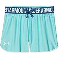 Under Armour Play Up Short Pantalón Corto, Niñas, Azul (425), S