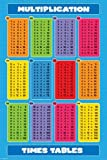 1art1 41195 Poster Ecole Multiplication Times Tables 91 x 61 cm