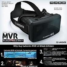 Pack de realidad virtual Lakento V4 gafas VR + botones de controle + 2 juegos