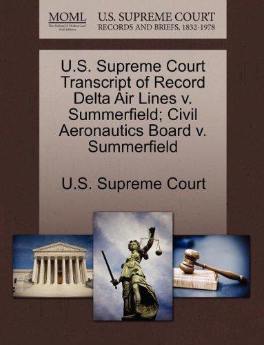 us-supreme-court-transcript-of-record-delta-air-lines-v-summerfield-civil-aeronautics-board-v-summer