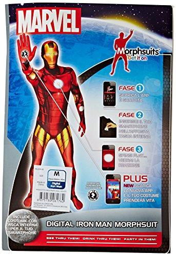joker MLZIR-M Marvel Iron Man Costume di Carnevale, in Busta, Multicolore