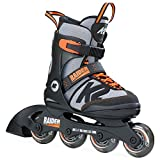 K2 Skate Raider- Patines, Color negro naranja,...