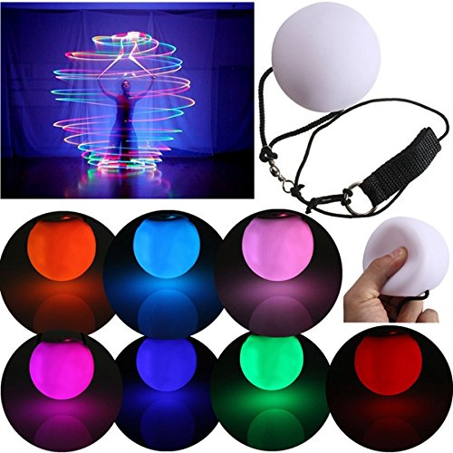 Fan-prop (ILS - New Fashion LED POI Thrown Balls for Professional Belly Dance Level Hand Props)