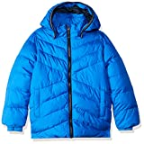 NAME IT Jungen Jacke NKMMIL Puffer Jacket Camp, Blau Lapis Blue, 128