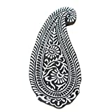 Asian Hobby Crafts Wooden Hand Carved Printing Stamp Block - Long Ambi