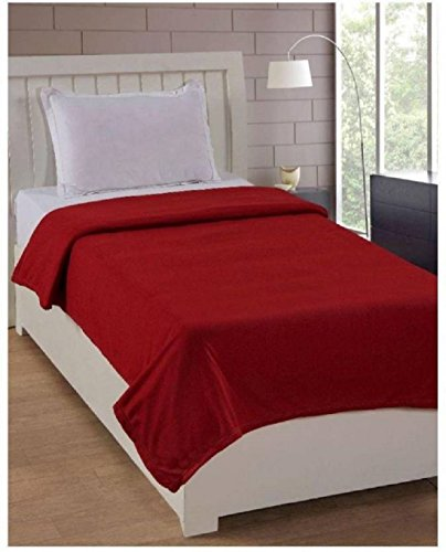 Nakoda Creation Single Bed Super lite blanket Marroon  available at amazon for Rs.99