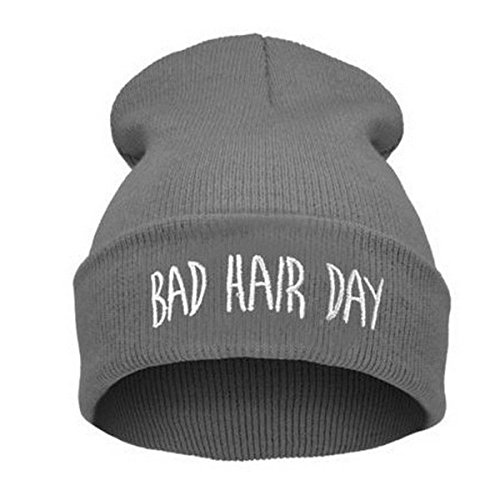 Inception Pro Infinite Hut - Winter Bad Hair Day Männer Frauen Unisex One Size (grau-weiße Schrift)
