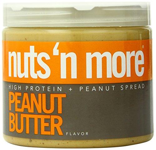 Muttern 'n more Peanut Butter 454g Nahrungsergänzungsmittel
