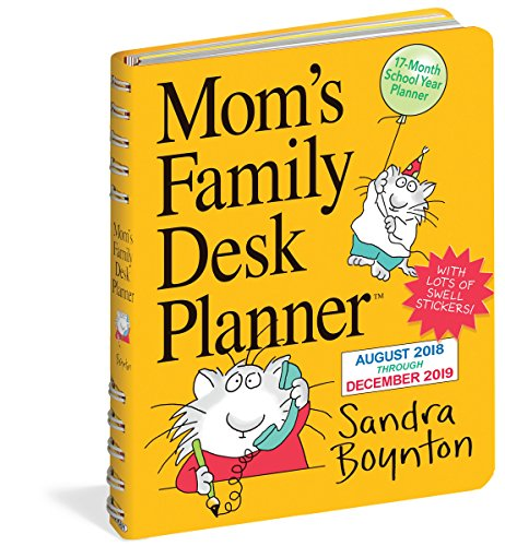 2019 Moms Family Desk Calendar Wall Calendar