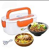 Elektrische Lunch Box, HJL Heizung Lunch-Box, Brotdose Kostwärmer , Unabhängiger Abnehmbarer Edelstahl Liner 40W (orange)