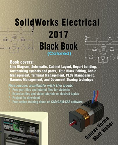 SolidWorks Electrical 2017 Black Book (Colored)