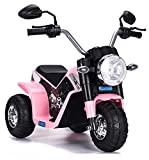 kid go Moto Elettrica per Bambini 6V Baby Rosa