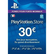 Carte Playstation Network 30 EUR | Code Jeu PSN - Compte français