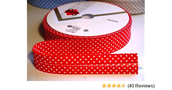Cotton Bias Binding Tape 5m 25mm Wide Sewing Crafts Many Colours